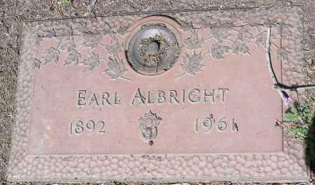 ALBRIGHT, EARL - Yavapai County, Arizona   EARL ALBRIGHT - Arizona Gravestone Photos