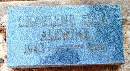 ALEWINE, CHARLENE EDNA - Yavapai County, Arizona | CHARLENE EDNA ALEWINE - Arizona Gravestone Photos