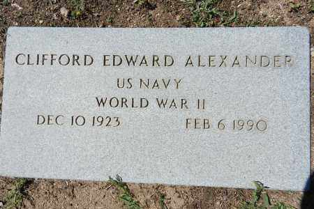 ALEXANDER, CLIFFORD E. - Yavapai County, Arizona | CLIFFORD E. ALEXANDER - Arizona Gravestone Photos