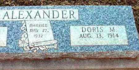 HALLING ALEXANDER, DORIS - Yavapai County, Arizona | DORIS HALLING ALEXANDER - Arizona Gravestone Photos