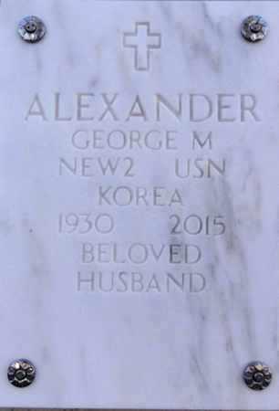 ALEXANDER, GEORGE M. - Yavapai County, Arizona | GEORGE M. ALEXANDER - Arizona Gravestone Photos