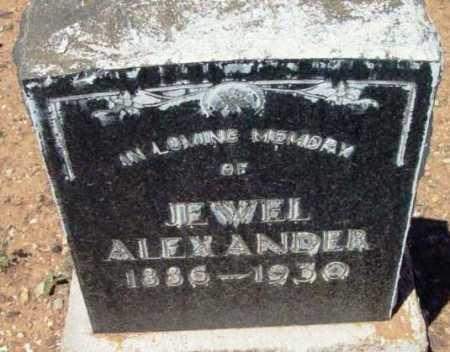 ALEXANDER, JEPPY JEWEL - Yavapai County, Arizona | JEPPY JEWEL ALEXANDER - Arizona Gravestone Photos