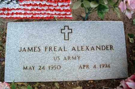 ALEXANDER, JAMES FREAL - Yavapai County, Arizona | JAMES FREAL ALEXANDER - Arizona Gravestone Photos