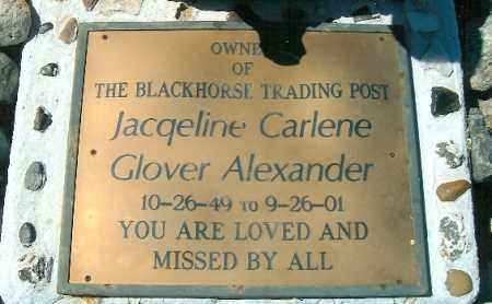 ALEXANDER, JACQUELINE C. - Yavapai County, Arizona | JACQUELINE C. ALEXANDER - Arizona Gravestone Photos