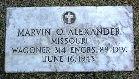 ALEXANDER, MARVIN O. - Yavapai County, Arizona | MARVIN O. ALEXANDER - Arizona Gravestone Photos