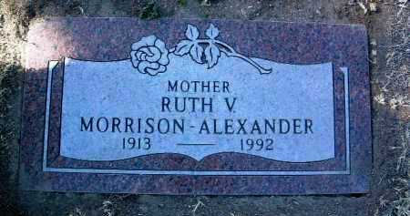 ALEXANDER, RUTH VIVIAN - Yavapai County, Arizona | RUTH VIVIAN ALEXANDER - Arizona Gravestone Photos