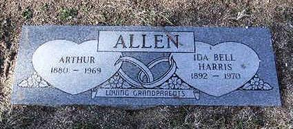 ALLEN, ARTHUR - Yavapai County, Arizona | ARTHUR ALLEN - Arizona Gravestone Photos