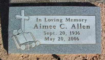 ALLEN, AIMEE CHRISTINE - Yavapai County, Arizona | AIMEE CHRISTINE ALLEN - Arizona Gravestone Photos