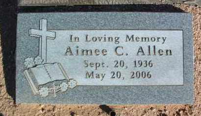 ALLEN, AIMEE CHRISTINE - Yavapai County, Arizona | AIMEE CHRISTINE ALLEN - Arizona Gravestone Photos