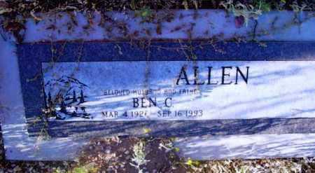ALLEN, BEN C. - Yavapai County, Arizona | BEN C. ALLEN - Arizona Gravestone Photos