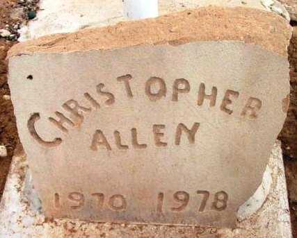 ALLEN, CHRISTOPHER - Yavapai County, Arizona | CHRISTOPHER ALLEN - Arizona Gravestone Photos