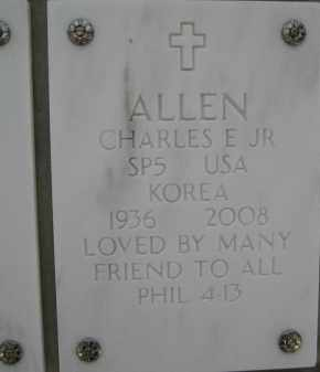 ALLEN, CHARLES E., JR. - Yavapai County, Arizona | CHARLES E., JR. ALLEN - Arizona Gravestone Photos