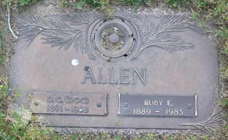 ALLEN, RUBY E. - Yavapai County, Arizona   RUBY E. ALLEN - Arizona Gravestone Photos