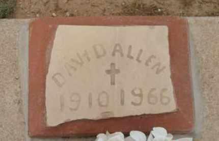 ALLEN, DAVID VERNON - Yavapai County, Arizona | DAVID VERNON ALLEN - Arizona Gravestone Photos