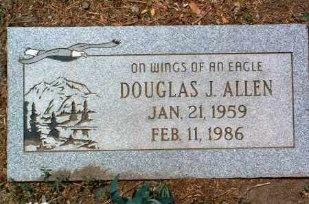 ALLEN, DOUGLAS JOE - Yavapai County, Arizona | DOUGLAS JOE ALLEN - Arizona Gravestone Photos