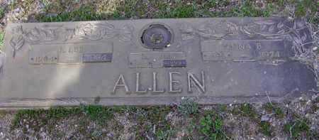 ALLEN, MAUDE HELEN - Yavapai County, Arizona | MAUDE HELEN ALLEN - Arizona Gravestone Photos
