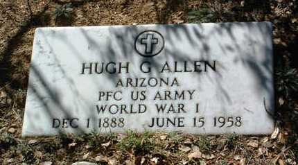 ALLEN, HUGH G. - Yavapai County, Arizona | HUGH G. ALLEN - Arizona Gravestone Photos