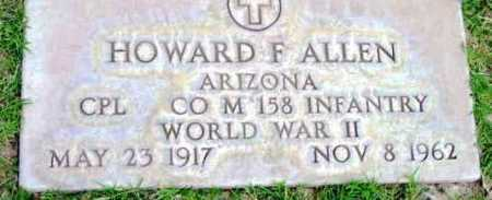 ALLEN, HOWARD FRANKLIN - Yavapai County, Arizona | HOWARD FRANKLIN ALLEN - Arizona Gravestone Photos