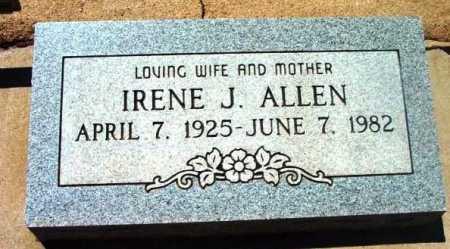 ALLEN, IRENE JANICE - Yavapai County, Arizona   IRENE JANICE ALLEN - Arizona Gravestone Photos