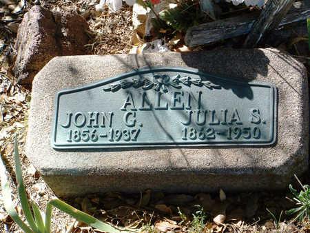 ALLEN, JULIA - Yavapai County, Arizona   JULIA ALLEN - Arizona Gravestone Photos
