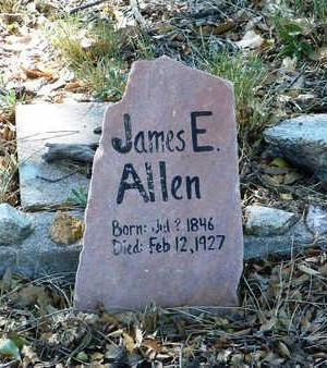 ALLEN, JAMES E. - Yavapai County, Arizona   JAMES E. ALLEN - Arizona Gravestone Photos