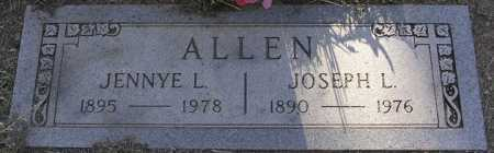 ALLEN, JENNYE LUCILLE - Yavapai County, Arizona | JENNYE LUCILLE ALLEN - Arizona Gravestone Photos