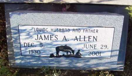 ALLEN, JAMES ALVIN - Yavapai County, Arizona | JAMES ALVIN ALLEN - Arizona Gravestone Photos