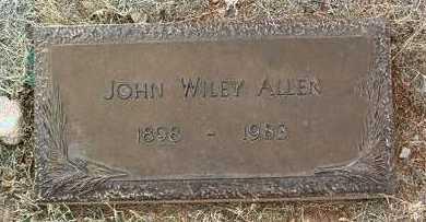 ALLEN, JOHN WILEY - Yavapai County, Arizona | JOHN WILEY ALLEN - Arizona Gravestone Photos
