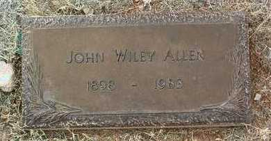 ALLEN, JOHN WILEY - Yavapai County, Arizona | JOHN WILEY ALLEN - Arizona Gravestone Photos