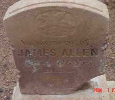 ALLEN, JAMES (BRONCHO JIM) - Yavapai County, Arizona | JAMES (BRONCHO JIM) ALLEN - Arizona Gravestone Photos