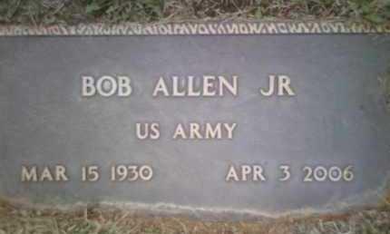 ALLEN,, BOB, JR. - Yavapai County, Arizona | BOB, JR. ALLEN, - Arizona Gravestone Photos
