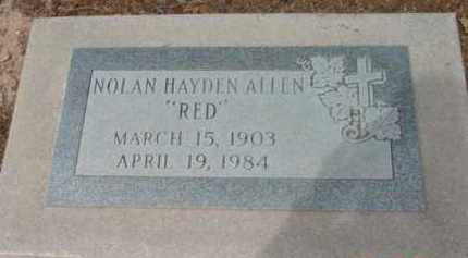 ALLEN, NOLAN HAYDEN (RED) - Yavapai County, Arizona | NOLAN HAYDEN (RED) ALLEN - Arizona Gravestone Photos