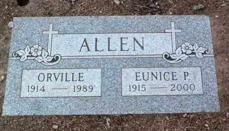 ALLEN, ORVILLE - Yavapai County, Arizona | ORVILLE ALLEN - Arizona Gravestone Photos