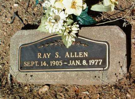 ALLEN, RAY S. - Yavapai County, Arizona   RAY S. ALLEN - Arizona Gravestone Photos