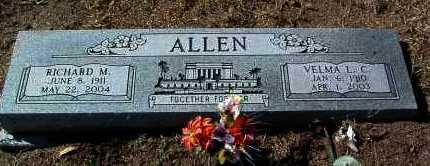 CHRISTENSEN ALLEN, V. - Yavapai County, Arizona | V. CHRISTENSEN ALLEN - Arizona Gravestone Photos