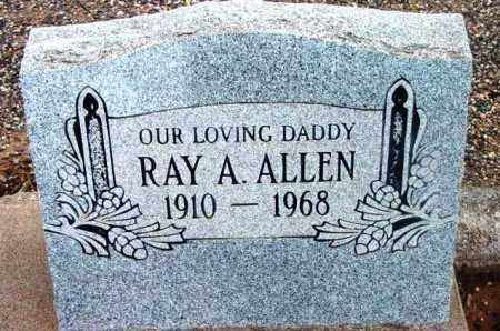ALLEN, RAY ALMA - Yavapai County, Arizona | RAY ALMA ALLEN - Arizona Gravestone Photos