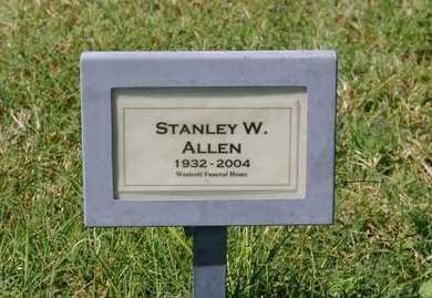 ALLEN, STANLEY W. - Yavapai County, Arizona | STANLEY W. ALLEN - Arizona Gravestone Photos
