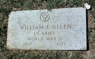 ALLEN, WILLIAM E. - Yavapai County, Arizona | WILLIAM E. ALLEN - Arizona Gravestone Photos