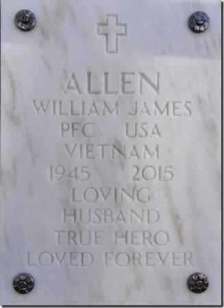 ALLEN, WILLIAM JAMES - Yavapai County, Arizona | WILLIAM JAMES ALLEN - Arizona Gravestone Photos