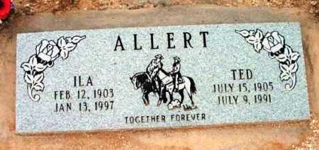 ALLERT, ILA P. - Yavapai County, Arizona | ILA P. ALLERT - Arizona Gravestone Photos