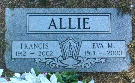 ALLIE, FRANCIS - Yavapai County, Arizona | FRANCIS ALLIE - Arizona Gravestone Photos