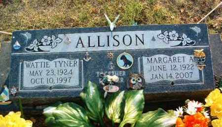 ALLISON, MARGARET A. - Yavapai County, Arizona | MARGARET A. ALLISON - Arizona Gravestone Photos