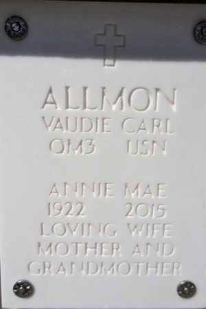 ALLMON, ANNIE MAE - Yavapai County, Arizona | ANNIE MAE ALLMON - Arizona Gravestone Photos
