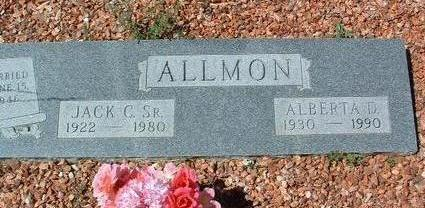ALLMON, ALBERTA DEAN - Yavapai County, Arizona | ALBERTA DEAN ALLMON - Arizona Gravestone Photos