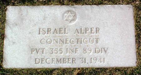 ALPER, ISRAEL - Yavapai County, Arizona | ISRAEL ALPER - Arizona Gravestone Photos