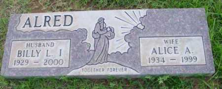 ALRED, ALICE ANN - Yavapai County, Arizona | ALICE ANN ALRED - Arizona Gravestone Photos