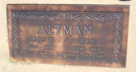 ALTMAN, VIOLA IBBIE - Yavapai County, Arizona | VIOLA IBBIE ALTMAN - Arizona Gravestone Photos