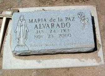 DE LA PAZ ALVARADO, M. - Yavapai County, Arizona   M. DE LA PAZ ALVARADO - Arizona Gravestone Photos
