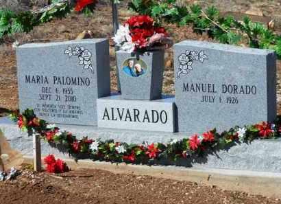 ALVARADO, MANUEL DORADO - Yavapai County, Arizona | MANUEL DORADO ALVARADO - Arizona Gravestone Photos