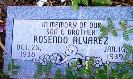 ALVAREZ, ROSENDO - Yavapai County, Arizona | ROSENDO ALVAREZ - Arizona Gravestone Photos